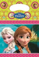 6 Disney Frozen Party Bags